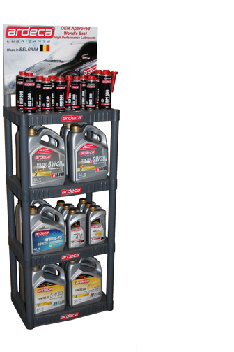 Ardeca Promotional Merchandise  Display Rack